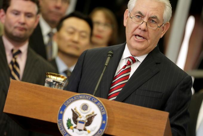 """美国国务卿蒂勒森煽动政变? 提委内瑞拉""""政权更迭"""""""