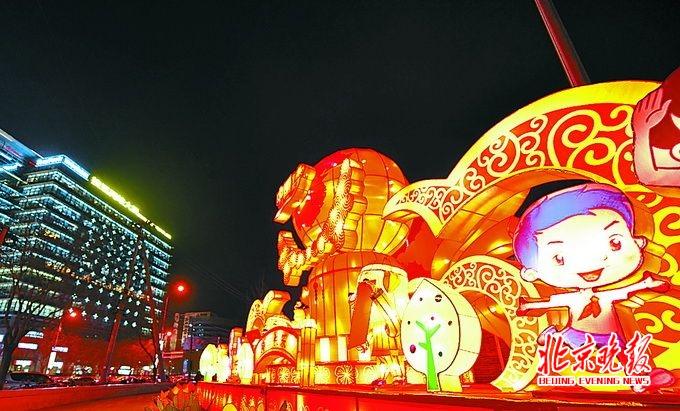 中国重大节日手绘图