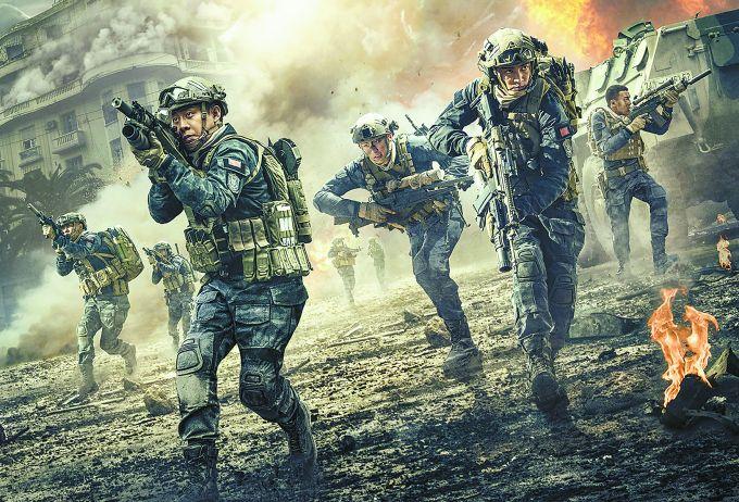 影评《红海举措》:主旋律影片愈气愤爆 比拟《战狼2》各有长短