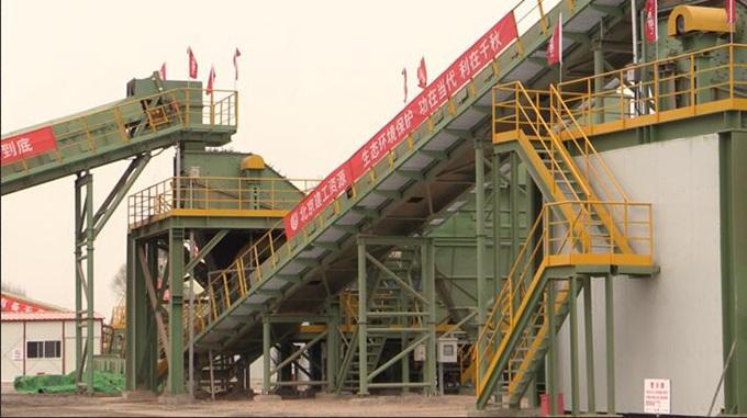 """北京赛车pk10直播:建筑垃圾再生之路_""""不挑食""""的处置线一年吞掉70万吨建筑垃圾"""