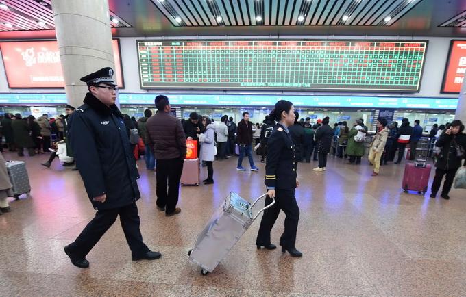 北京pk10官网直播:北京西站地下退票处关闭_退票调至地面售票厅