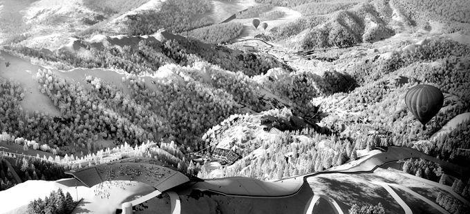 国家高山滑雪中心正式动工 将成北京海拔最高的超级工程
