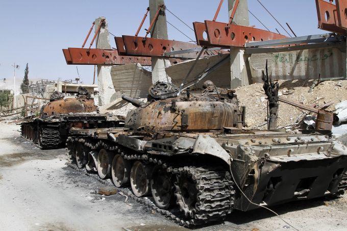 """叙政府军收复首都及周边全部地盘 """"伊斯兰国"""""""