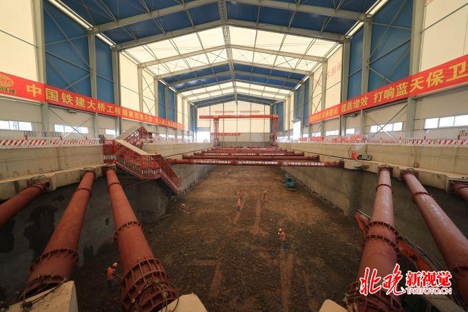 北京地铁17号线七成场地实质开工:共设10座换乘站 站内换乘不超3分钟