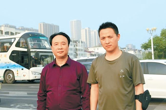 """北京赛车PK10官方:沭阳全城寻找的""""救人英雄""""找到了_是两位退伍军人"""