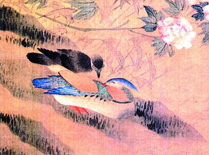 """""""而在民间,孔雀则另有寓意,不仅是美的化身和吉祥的预兆,还是爱情和"""
