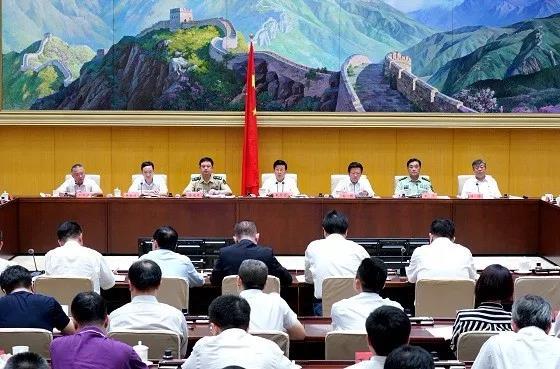 国家反恐领导小组副组长陈光军少将首次亮相