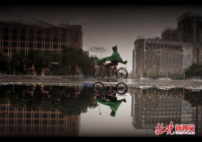 北京明晨至后天上午将有大到暴雨 建议中小学提前做好放学安排