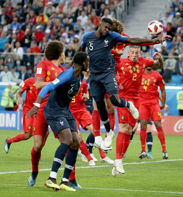 世界杯32强:法国VS比利时定位球分胜负 圣彼得堡