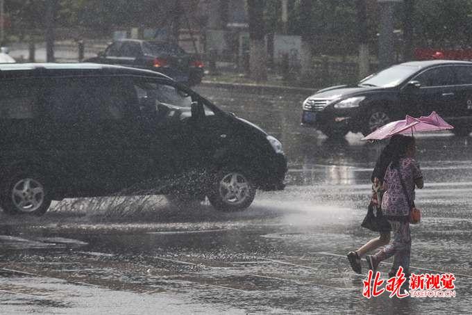北京曾经提早进入主汛期 今夏最大一场降雨下了一整天