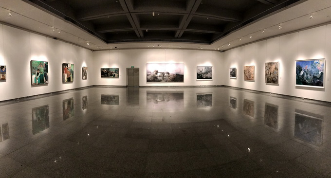 """2018中国写意油画学派作品年展""""将于深圳市关山"""