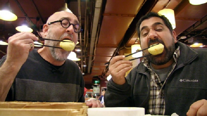 外国人心中中国街头美食