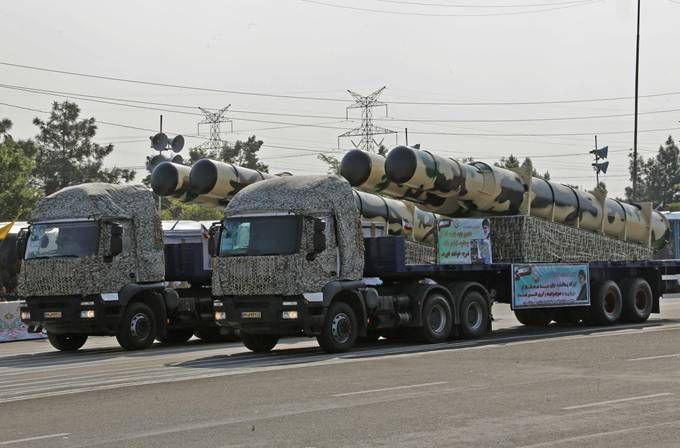 伊朗试射弹道导弹 西方一些媒体将其称为伊朗版反航母导弹(原创)
