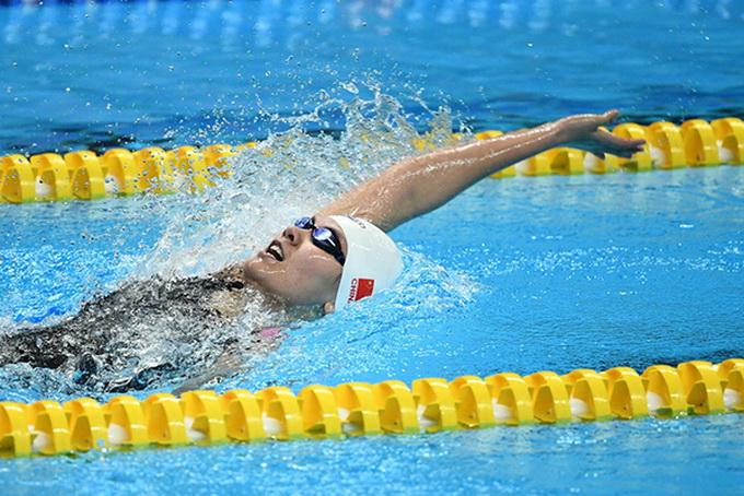 亚运会中国军团第五金:女子200米仰泳柳雅欣夺冠!(原创)