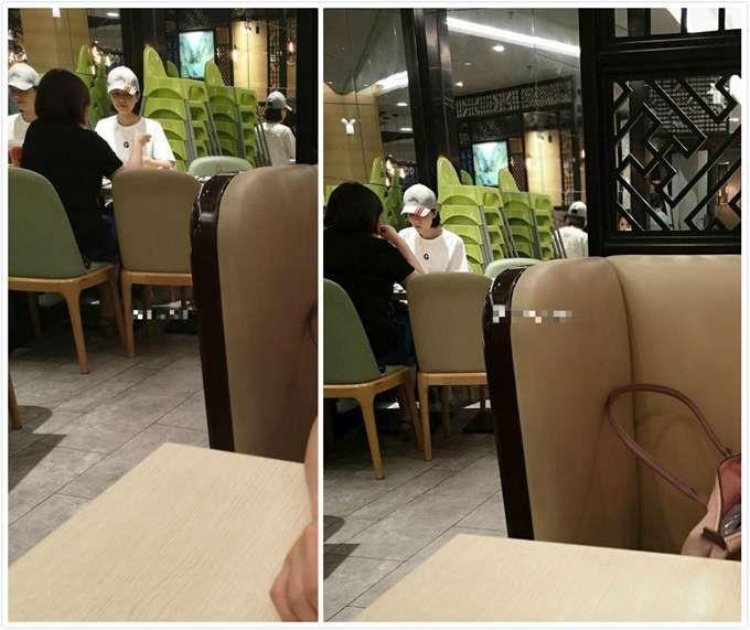 网友偶遇高圆圆疑似陪婆婆用餐 粉丝:女神不只美丽还十分贴心(原创)
