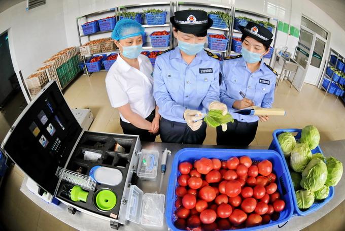 全面加强食品安全管理 学校食堂采购食品要100%索证索票