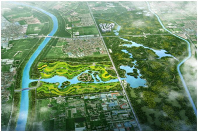 2020崇左河河堤规划图