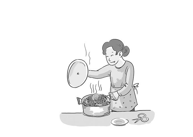 童年时把吃螃蟹当成一种游戏 想起过去却是家家都有难念的经 北晚