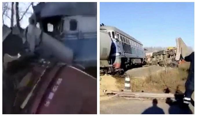 货车与火车相撞 货车驾驶员受伤入院谁的责任?