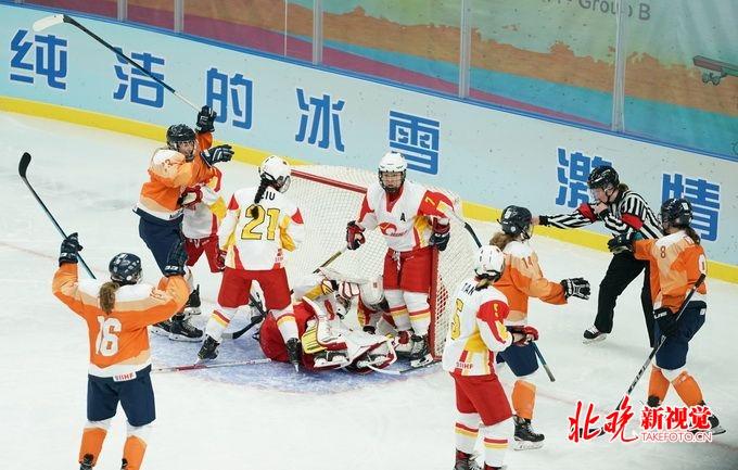 中国女冰不敌荷兰队:身高速度力量有差距 冲击