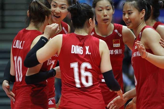 中國女排橫掃波蘭
