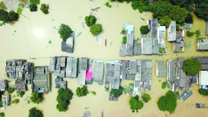 多地河流发生超警洪水 国家防总启动Ⅳ级应急响应