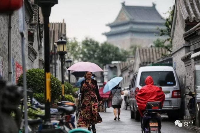 小雨清凉送三伏,北京最美的季节就要到了