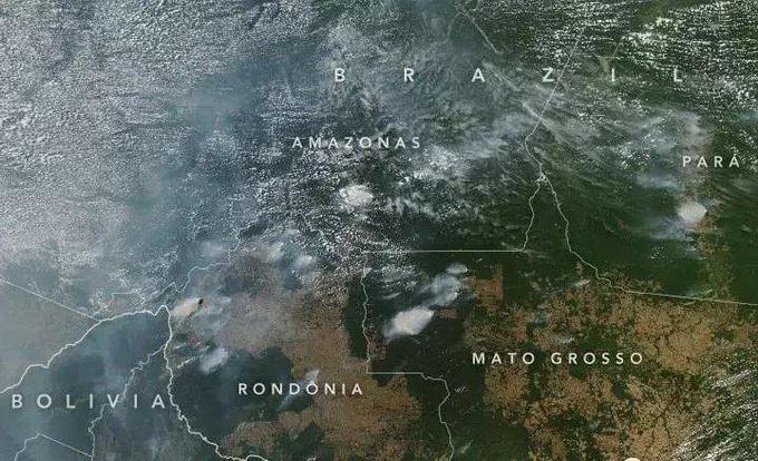 亚马逊雨林大火连烧3个星期 在国际舆论场中竟毫无存在感?