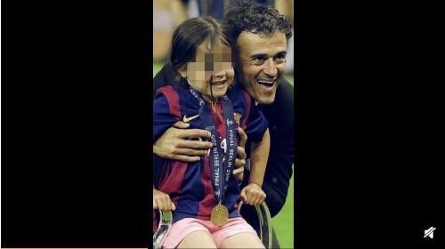 西班牙主帥恩里克女兒去世 推特發文:將會成為引領我們家庭的星星