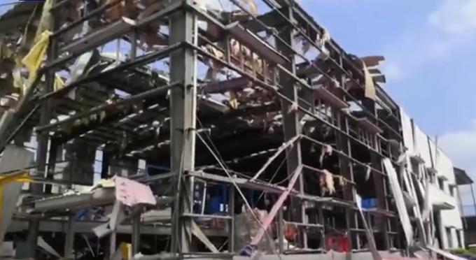 玉林化工厂爆炸已致四死,网友:希望死亡人数不要再增加