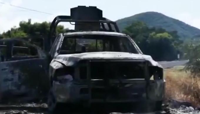 墨西哥连续爆发2起枪战,已致29人死亡,现场惨不忍睹