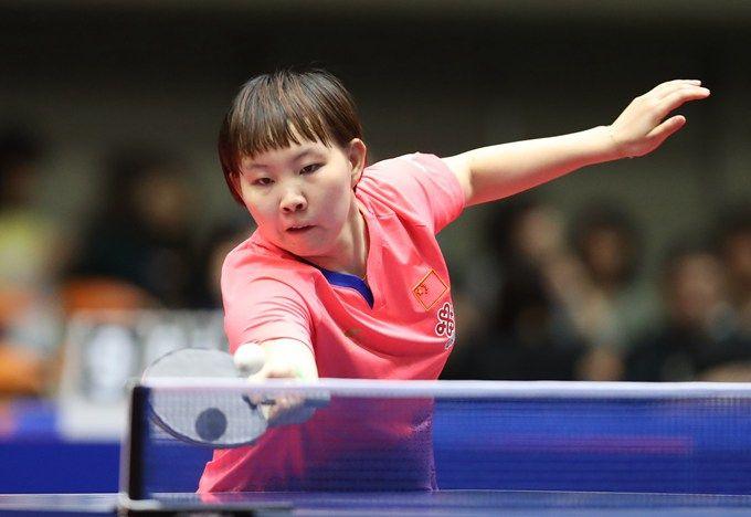 朱雨玲进4强将战冯天薇 球迷:她能击败这位新加坡老将吗?