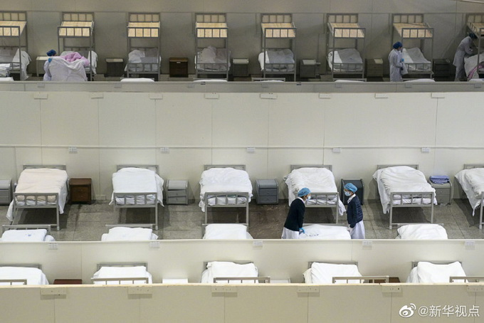 [方舱医院]34天后,武汉收治人数最多方舱医院正式休舱!累计收治1848人