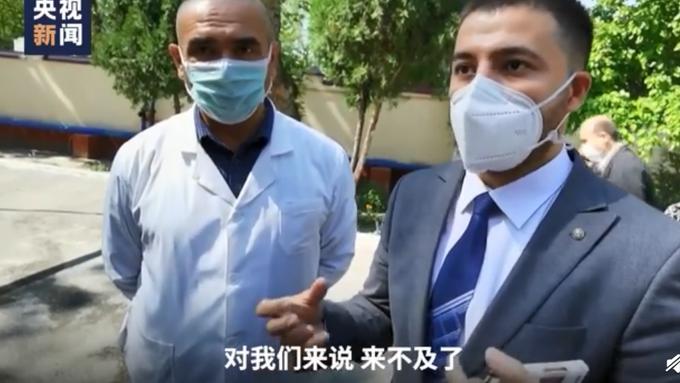 该国的医院负责人说:中国专家晚来一点就来不及了