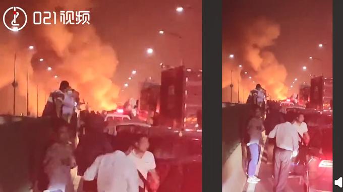 热点|突发!上海奉浦大桥发生车辆火灾,目前火已扑灭无伤亡