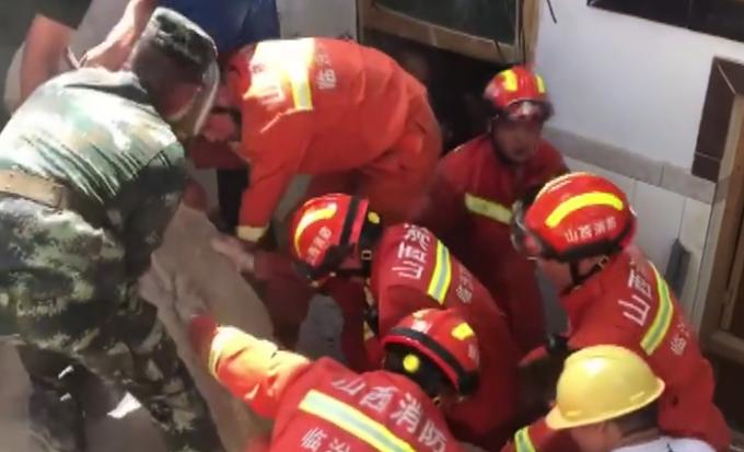 坍塌事故 愿平安!山西临汾一饭店坍塌已致5人死亡,已投入救援力量710余人