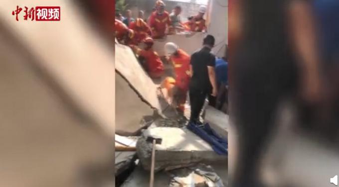 热点|山西临汾一饭店坍塌已致13人死亡,事发时一老人正在过寿