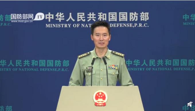 """国防部回应解放军在台海地区演练:""""谋独""""挑衅注定不会得逞"""