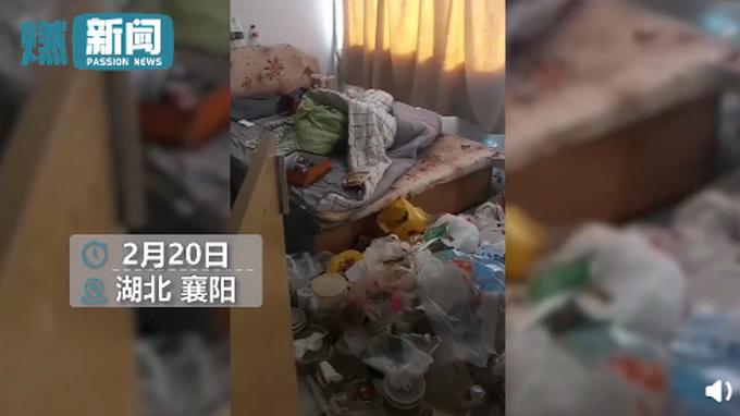女子欠2个月房租失联留满屋垃圾 这是人干的事?
