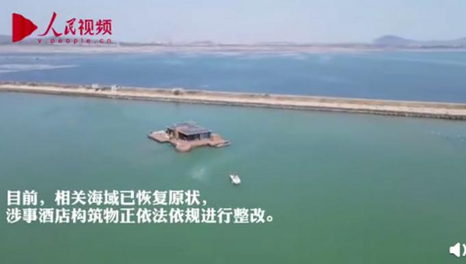 网红海上酒店已停用并被拖离海域 到底发生了什么?