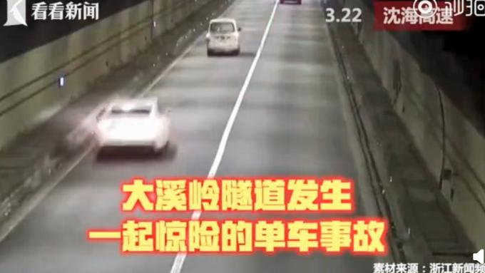 司机出现幻觉一直叫妈妈 隧道内失控狂飙6连撞 男子:啥都不记得了