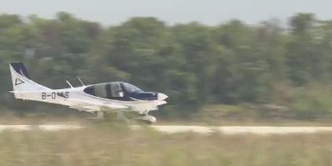 GA20首次公开试飞,通用飞机也可民企造